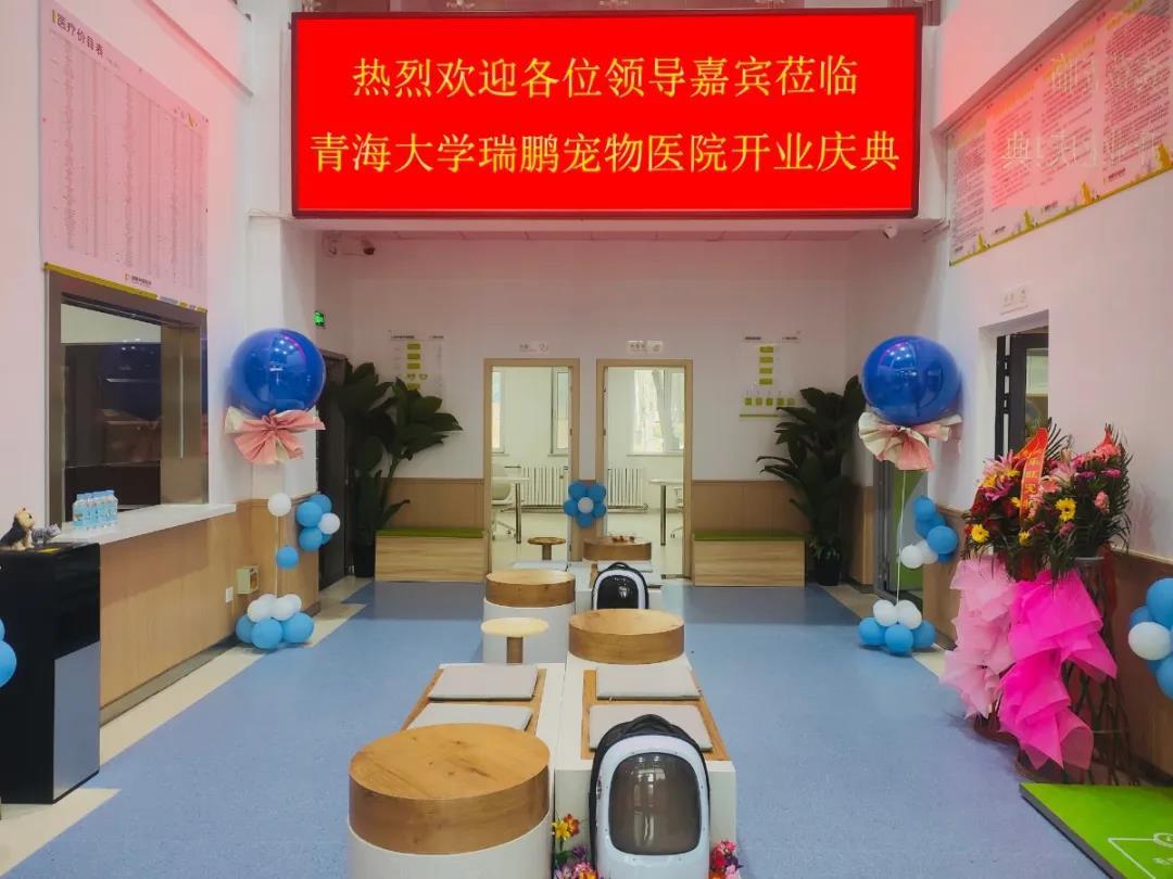 携手同行·医路相伴——瑞鹏·青海大学动物医院盛大开业